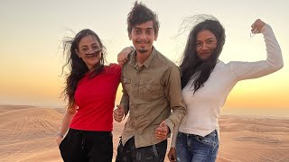 মৰুভুমিত যাত্ৰা - Desert safari in Dubai