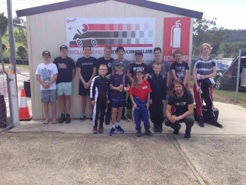 Dave Sera Driver training day Picton Gokart track(18 time Australian Champ)