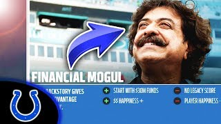 BILLIONAIRE BUYS COLTS! Madden 18 Colts Connected Franchise Ep. 1