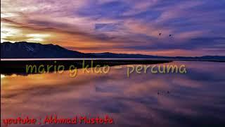 Free Download Lagu Mario G Klao Percuma Lirik Lagu Mp3 dan