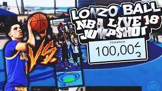 SHOOTING W/ LONZO BALL