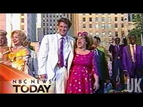 You Can't Stop the Beat OBC Matthew Morrison & Marissa Jaret Winokur  NBC  Today