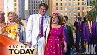 You Can't Stop the Beat OBC (Matthew Morrison & Marissa Jaret Winokur) - NBC News Today thumbnail