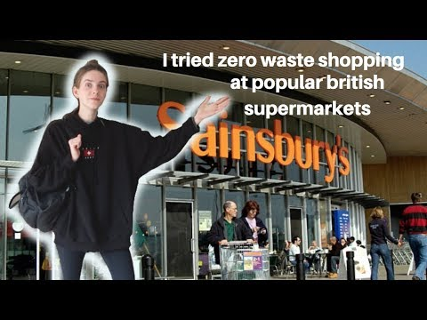I tried zero waste food shopping at British supermarkets