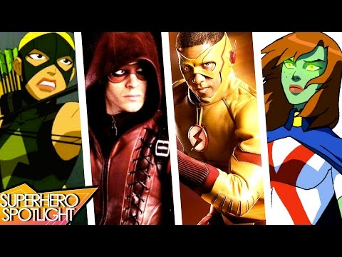 Young Justice TV Show & Justice League on TV? // Superhero Spotlight Podcast
