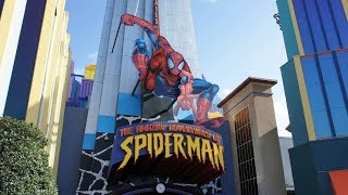 Amazing Adventures of Spiderman, Islands of Adventure