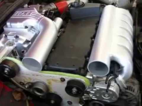 VR6 supercharged M90 Eaton project