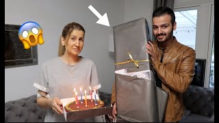 حفلة عيد ميلاد امي  شوفو رد فعلها😱