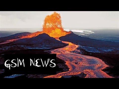 GSM News- LAVA flowing Kilauea volcano, 6.9 Rocks Hawaii/ PARKER Solar Probe/Update on Farming