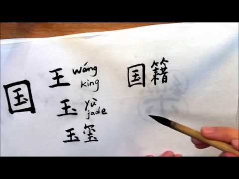 A Character a Day 国 simplified Chinese
