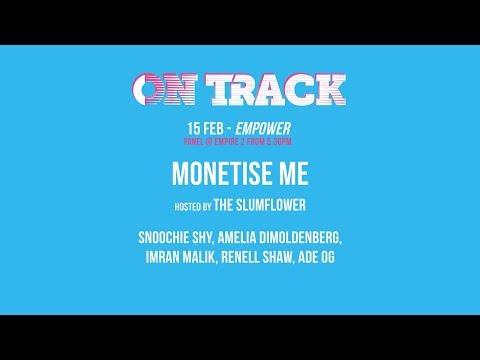 On Track Festival - Monetise Me