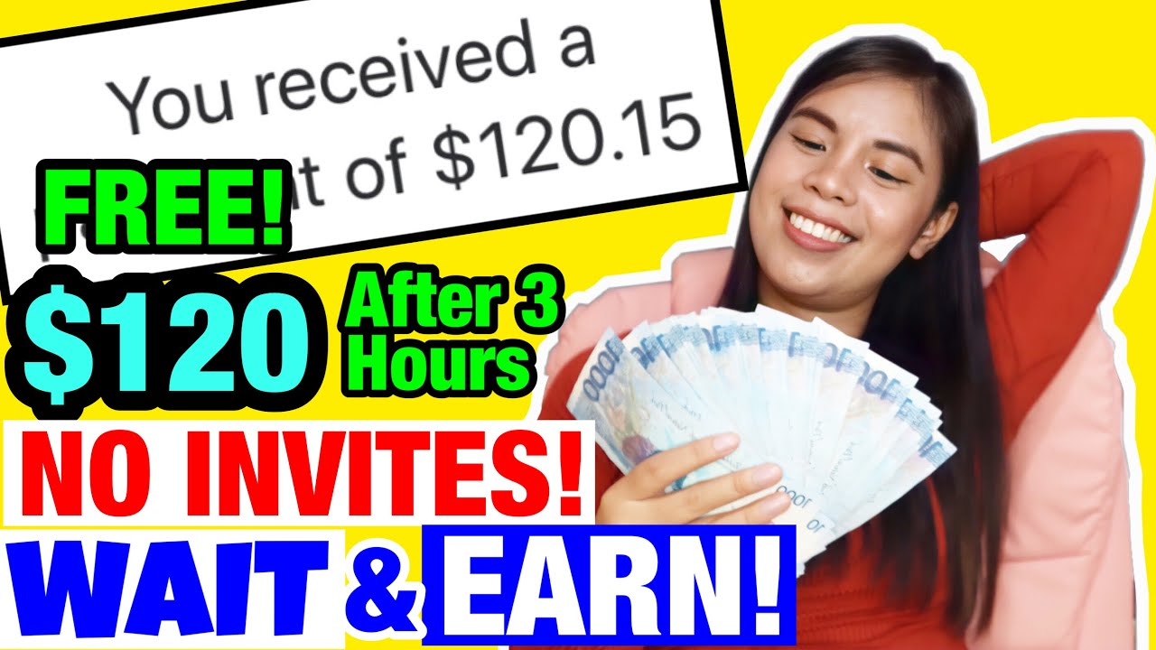 Download I EARNED $120 [P6,000] FREE WHILE WAITING! NO REFERRALS | Earn while waiting! Live Withdrawal