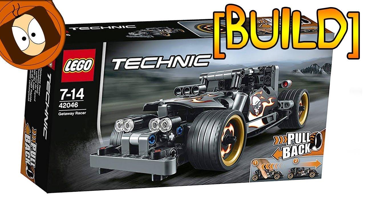 build lego technic voiture du fuyard youtube. Black Bedroom Furniture Sets. Home Design Ideas