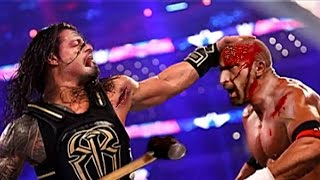 WWE Raw highlights Bloodiest Match Ever Top 5 Bloodiest Matches in WWE History by top ten things