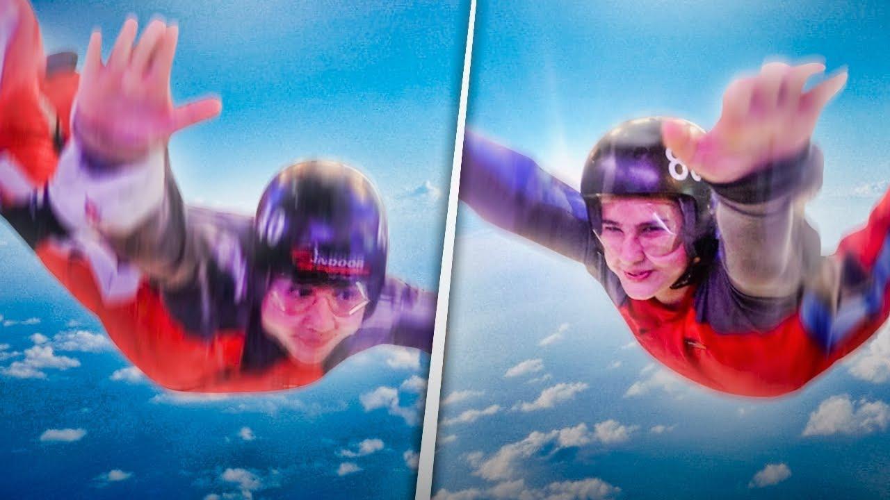 Download SKYDIVING Windkanal Sprung mit freiem Fall ( mein Bruder kann fliegen )   CRASHBROS2 #Skydiving