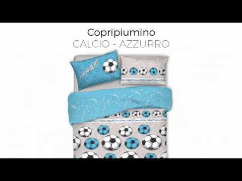 Tutorial Copripiumino.Copripiumino Linea Pensieri Delicati In 100 Cotone Dis Calcio