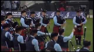 Field Marshal Montgomery Pipe Band - World Champions 2014 Medley