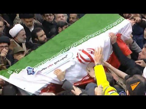 Похороны Сулеймани в Иране - как плакали религиозные лидеры