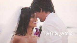 OUR WEDDING | Tati and James Wedding by : Tati
