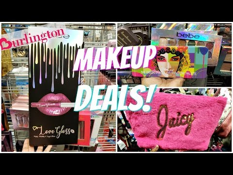 BURLINGTON MAKEUP DEALS! GIFT SETS SHOP WITH ME 2018