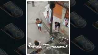 Veja o que acontece dentro das favelas quando a polícia chega