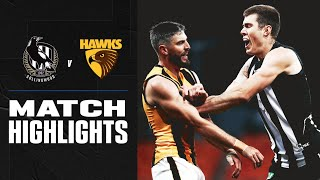 Collingwood V Hawthorn Highlights | Round 6, 2020 | Afl