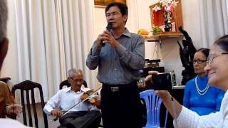 Thạc sĩ nhạc sĩ Huỳnh Khải ca vọng cổ chương trình đờn ca tài tử