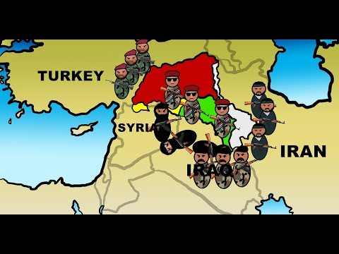 Animated Kurdish independence referendum vote explained in 3 minutes