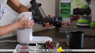 How to Clean Philips Slow Juicer HR1887 | Is it Easy to Clean - Philips Masticating Juicer