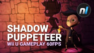 3D AND 2D Platforming Combined - Shadow Puppeteer Wii U GamePlay 60fps