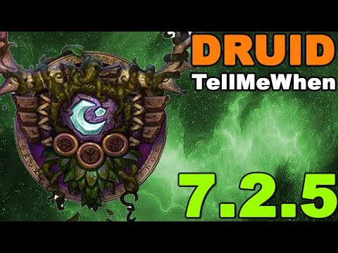 Druid TMW Profile for Patch 7.2.5 w/Download