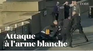 Les premières images de l'attaque à l'arme blanche sur le London Bridge
