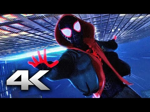 SPIDER-MAN INTO THE SPIDER VERSE ''Leap Of Faith'' Movie Clip (4K ULTRA HD) 2018
