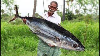 Apollo Fish Recipe | Giant Fish Fry | Big Fish Recipe by Grandpa