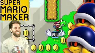 I Have a Bad Feeling About This // Tough Twitter Levels! [SUPER MARIO MAKER]