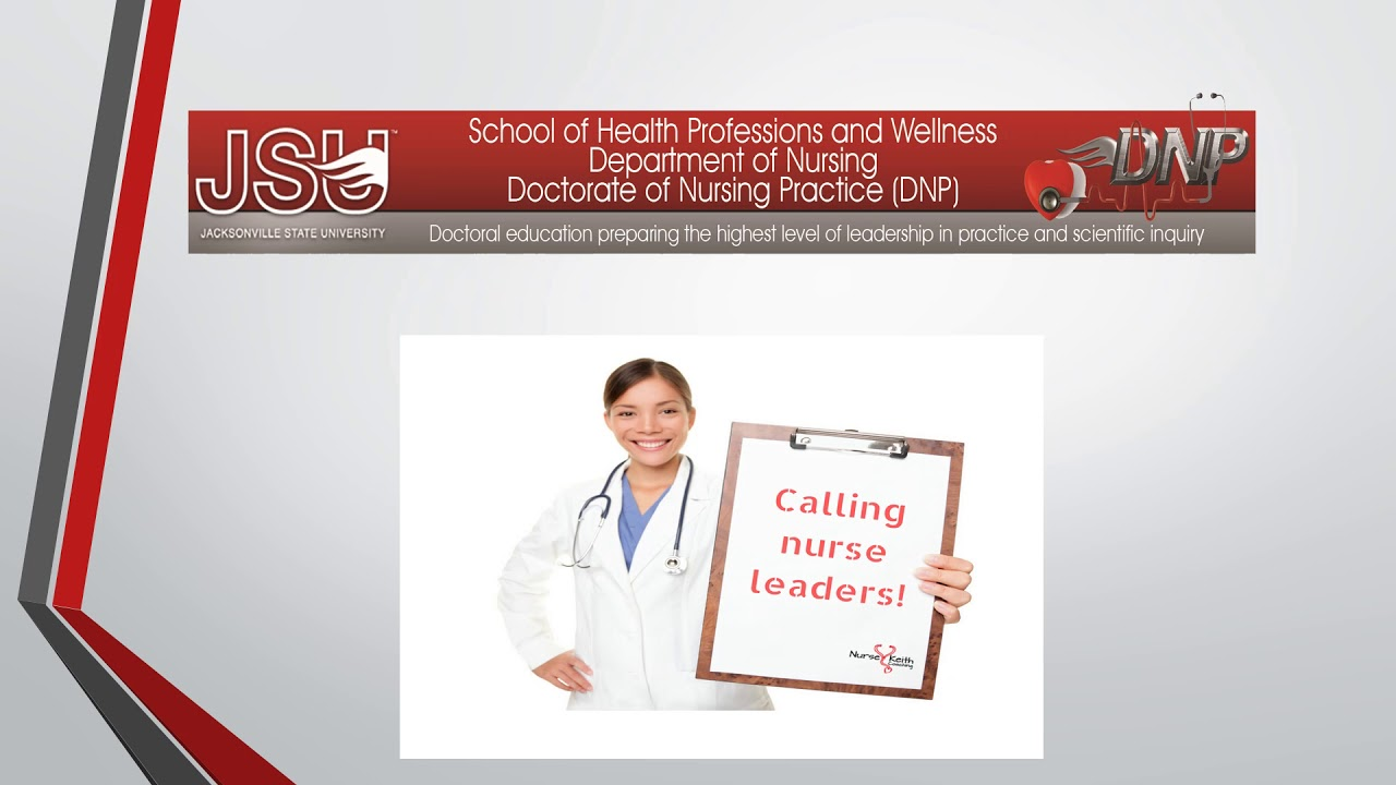 JSU | Department of Nursing | Doctor of Nursing Practice (DNP)