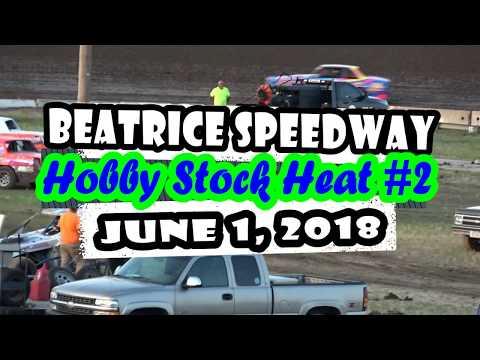 06/01/2018 Beatrice Speedway Hobby Stock Heat #2