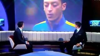 Mesut Özil Yine yaptı yapacağını