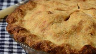 Apple Pie Recipe Demonstration - Joyofbaking.com