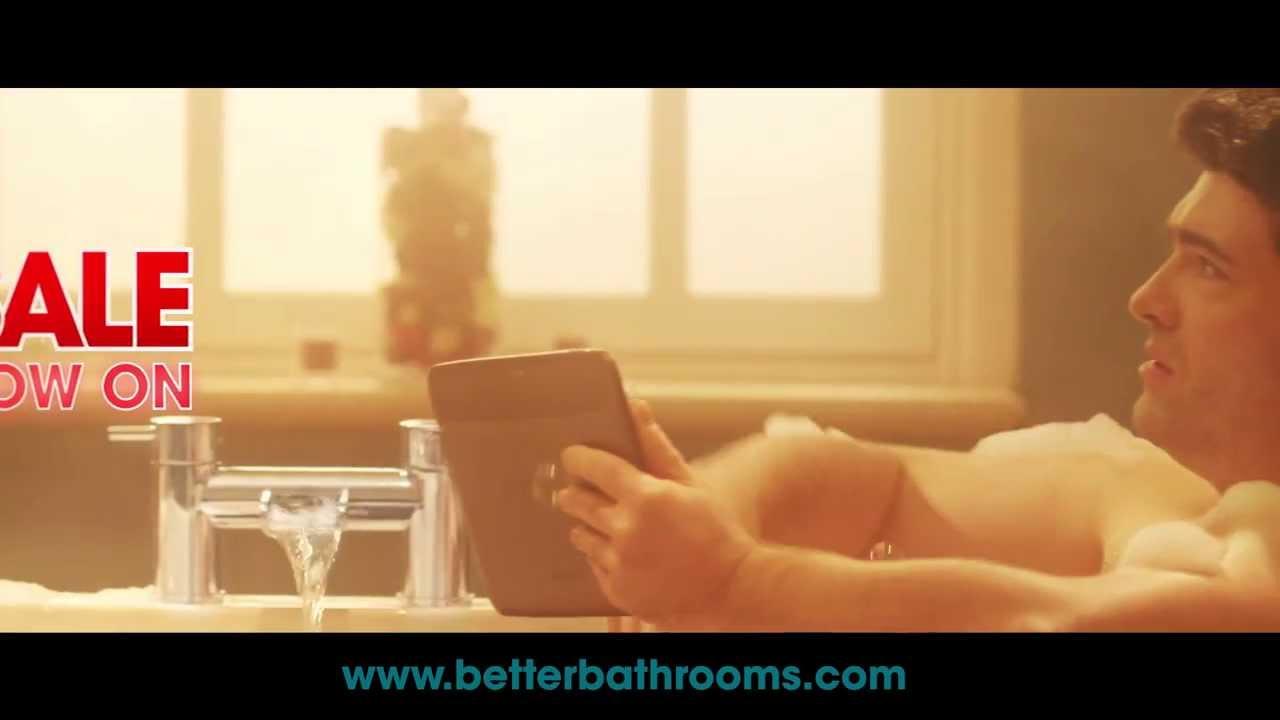 better bathrooms january 2014 sale tv commercial advert. Black Bedroom Furniture Sets. Home Design Ideas