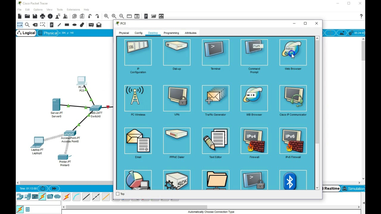 Download Cisco Packet Tracer Latest Version (7 2 1)