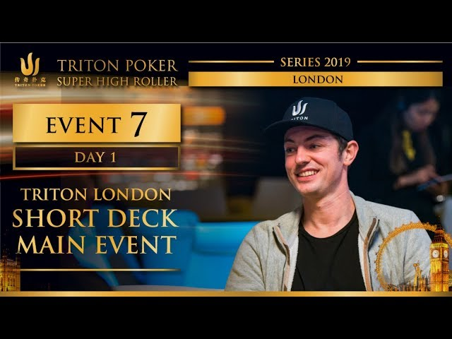 Triton London 2019 - Triton London SD Main Event £100K - Day 1