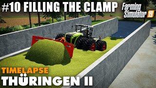 Thüringen II Timelapse #10 Filling The Bunker Silo, Farming Simulator 19