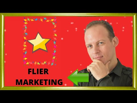 Flier marketing: marketing a business with flyers (fliers) - strategies, tips and ideas.