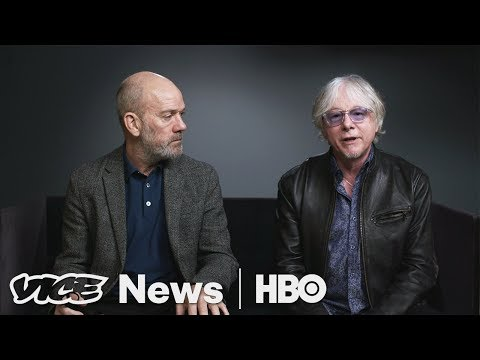 "R.E.M. Break Down ""Man On The Moon"" HBO"
