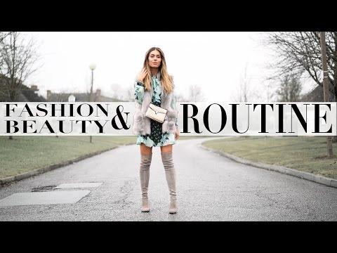 WINTER FASHION & BEAUTY ROUTINE | Lydia Elise Millen | Ad