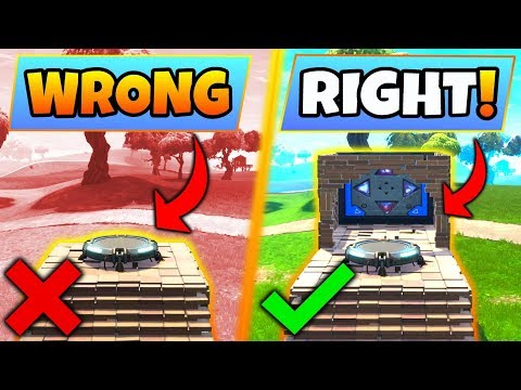 Fortnite Gameplay: 5 WEIRD/CREATIVE TIPS YOU SHOULD KNOW! – +Bouncer Pad (Battle Royale Update Tips) thumbnail