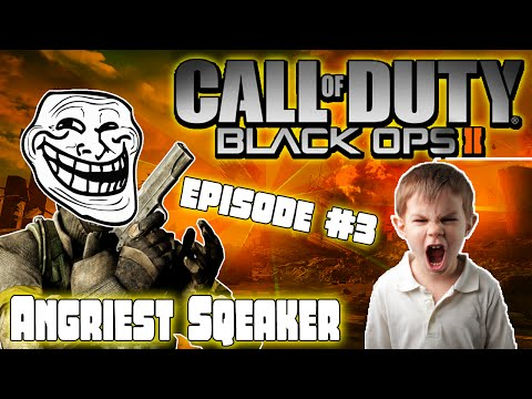 Black Ops 2 (Trolling With Mods) #3 ''Angriest Squeaker Over Mods'' (LOUD WARNING)
