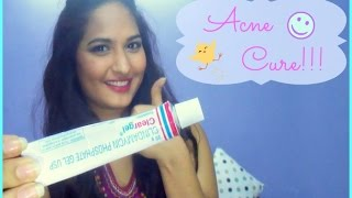How to get rid of acne/pimples?  ♥ Clear Gel ♥