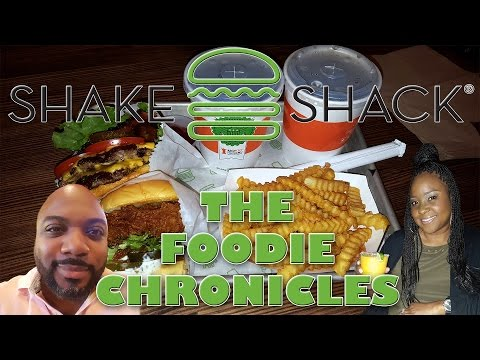 Shake Shack...The Foodie Chronicles Houston,TX- The Galleria
